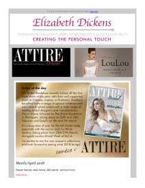 Attire Bridal magazine - February 2018 newsletter
