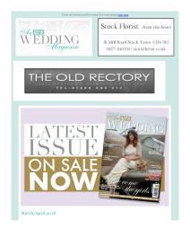 An Essex Wedding magazine - March 2018 newsletter