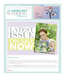 Your Hampshire and Dorset Wedding magazine - March 2018 newsletter