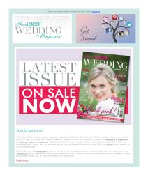 Your London Wedding magazine - March 2018 newsletter
