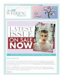 Your Kent Wedding magazine - April 2018 newsletter