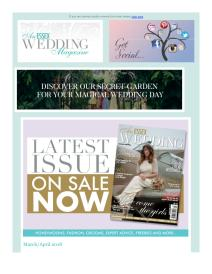 An Essex Wedding magazine - April 2018 newsletter
