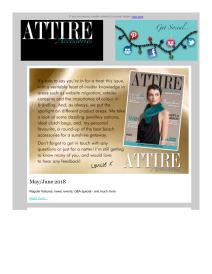 Attire Accessories magazine - April 2018 newsletter
