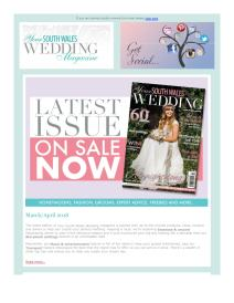 Your South Wales Wedding magazine - April 2018 newsletter