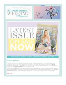 Your Cheshire & Merseyside Wedding magazine - April 2018 newsletter