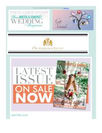 Your Bristol and Somerset Wedding magazine - May 2018 newsletter