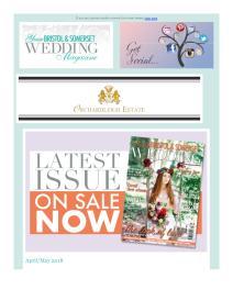 Your Bristol & Somerset Wedding magazine - May 2018 newsletter