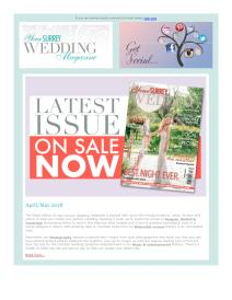 Your Surrey Wedding magazine - April 2018 newsletter
