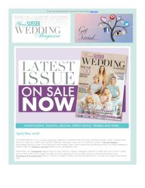 Your Sussex Wedding magazine - May 2018 newsletter