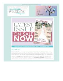 Your Herts and Beds Wedding magazine - May 2018 newsletter