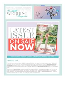 Your Surrey Wedding magazine - May 2018 newsletter