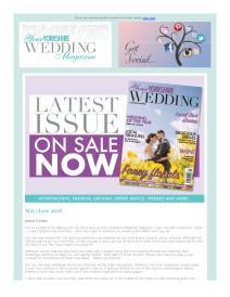Your Yorkshire Wedding magazine - May 2018 newsletter