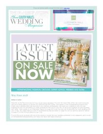 Your South Wales Wedding magazine - May 2018 newsletter