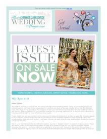 Your Cheshire & Merseyside Wedding magazine - May 2018 newsletter