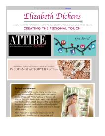 Attire Bridal magazine - May newsletter