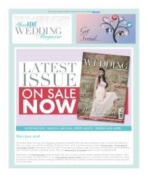 Your Kent Wedding magazine - June 2018 newsletter