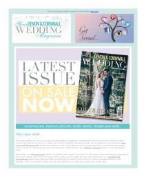 Your Devon & Cornwall Wedding magazine - June 2018 newsletter