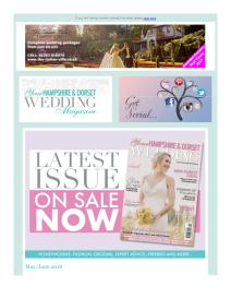 Your Hampshire and Dorset Wedding magazine - June 2018 newsletter