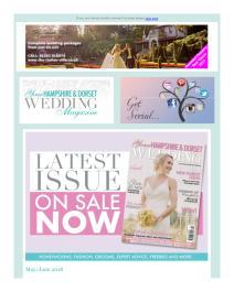 Your Hampshire & Dorset Wedding magazine - June 2018 newsletter
