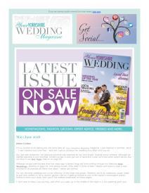 Your Yorkshire Wedding magazine - June 2018 newsletter