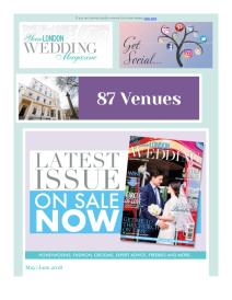 Your London Wedding magazine - June 2018 newsletter