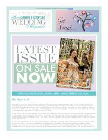 Your Cheshire & Merseyside Wedding magazine - June 2018 newsletter