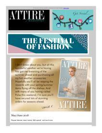 Attire Accessories magazine - June 2018 newsletter