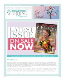 Your Bristol and Somerset Wedding magazine - July 2018 newsletter