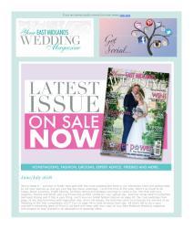 Your East Midlands Wedding magazine - June 2018 newsletter