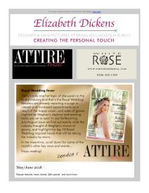 Attire Bridal magazine - June 2018 newsletter