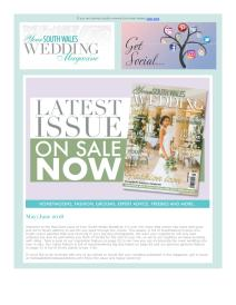 Your South Wales Wedding magazine - June 2018 newsletter
