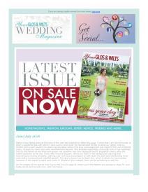 Your Glos & Wilts Wedding magazine - June 2018 newsletter