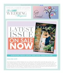 Your Surrey Wedding magazine - June 2018 newsletter