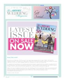 Your North West Wedding magazine - June 2018 newsletter