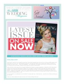 Your Sussex Wedding magazine - July 2018 newsletter