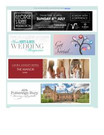 Your Herts and Beds Wedding magazine - July 2018 newsletter