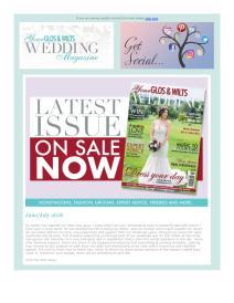 Your Glos & Wilts Wedding magazine - July 2018 newsletter