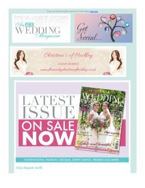 An Essex Wedding magazine - July 2018 newsletter