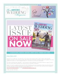 Your North West Wedding magazine - July 2018 newsletter