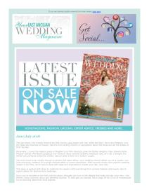 Your East Anglian Wedding magazine - July 2018 newsletter