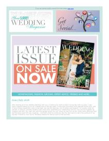 Your Surrey Wedding magazine - July 2018 newsletter