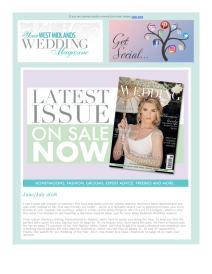 Your West Midlands Wedding magazine - July 2018 newsletter