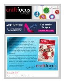 Craft Focus magazine - July 2018 newsletter