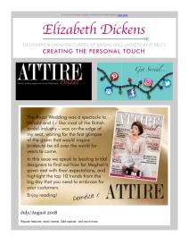 Attire Bridal magazine - July 2018 newsletter