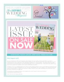Your South Wales Wedding magazine - July 2018 newsletter
