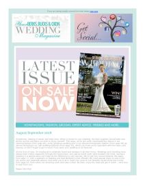 Your Berks, Bucks and Oxon Wedding magazine - August 2018 newsletter