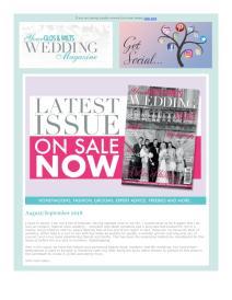 Your Glos & Wilts Wedding magazine - August 2018 newsletter