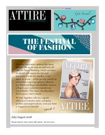 Attire Accessories magazine - September 2018 newsletter