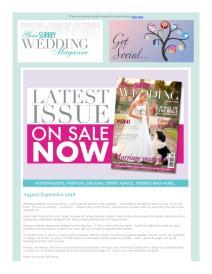 Your Surrey Wedding magazine - August 2018 newsletter