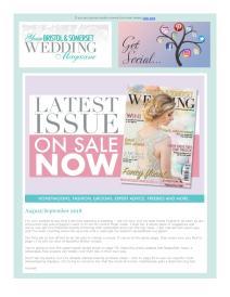 Your Bristol and Somerset Wedding magazine - September 2018 newsletter